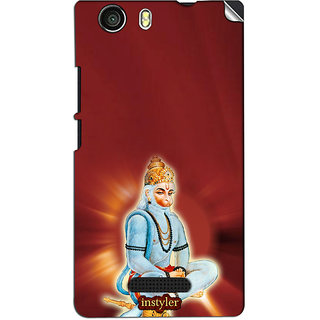 Instyler Mobile Skin Sticker For Micromax Canvas Nitro 2E311 MSMMXCANVASNITRO2E311DS-10099 CM-2019