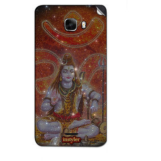 Instyler Mobile Skin Sticker For Micromax Canvas Nitro A310 MSMMXCANVASNITROA310DS-10102 CM-1702