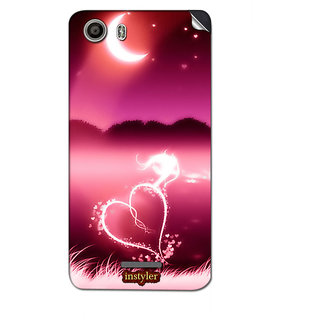 Instyler Mobile Skin Sticker For Micromax Canvas Spark 2Q334 MSMMXCANVASSPARK2Q334DS-10107 CM-1227
