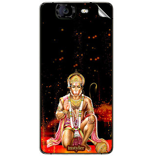 Instyler Mobile Skin Sticker For Micromax Knight A350 MSMMXA350DS-10093 CM-2973