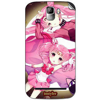Instyler Mobile Skin Sticker For Micromax Canvas Enticea105 MSMMXCANVASENTICEA105DS-10072 CM-4712