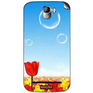 Instyler Mobile Skin Sticker For Micromax Canvas Enticea105 MSMMXCANVASENTICEA105DS-10079 CM-4719