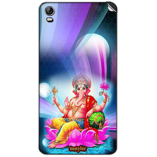 Instyler Mobile Skin Sticker For Micromax Canvas Fire 2A104 MSMMXCANVASFIRE2A104DS-10090 CM-4570