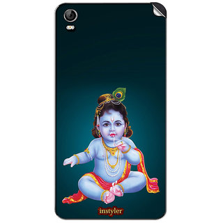 Instyler Mobile Skin Sticker For Micromax Canvas Fire 2A104 MSMMXCANVASFIRE2A104DS-10097 CM-4577