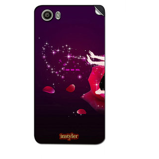 Instyler Mobile Skin Sticker For Micromax Canvas Fire 4A107 MSMMXCANVASFIRE4A107DS-10114 CM-4434