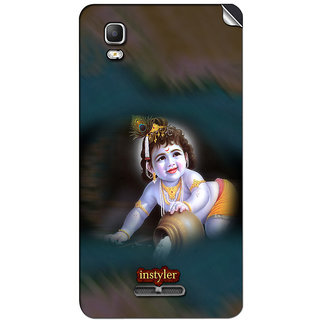Instyler Mobile Skin Sticker For Micromax Canvas Dooble 3A102 MSMMXDOODLE3A102DS-10088 CM-5208