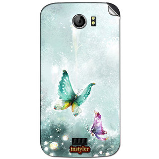 Instyler Mobile Skin Sticker For Micromax Canvas 2A110 MSMMXCANVAS2A110DS-10040 CM-5960