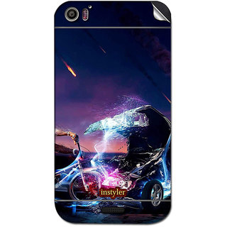 Instyler Mobile Skin Sticker For Micromax Canvas Dooble 2A240 MSMMXCANVASDOODLE2A240DS-10032 CM-5312