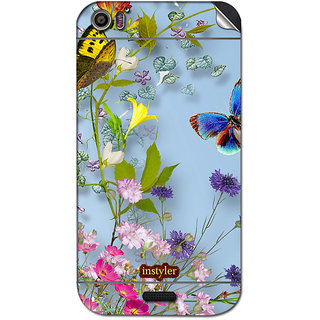 Instyler Mobile Skin Sticker For Micromax Canvas Dooble 2A240 MSMMXCANVASDOODLE2A240DS-10041 CM-5321