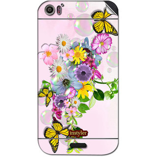 Instyler Mobile Skin Sticker For Micromax Canvas Dooble 2A240 MSMMXCANVASDOODLE2A240DS-10046 CM-5326