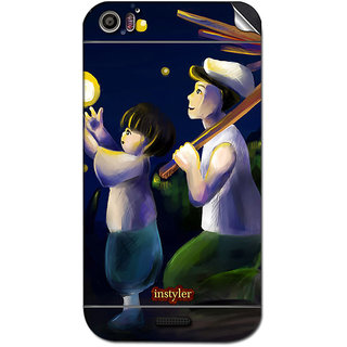 Instyler Mobile Skin Sticker For Micromax Canvas Dooble 2A240 MSMMXCANVASDOODLE2A240DS-10051 CM-5331
