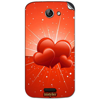 Instyler Mobile Skin Sticker For Micromax Canvas Elanga 2A121 MSMMXCANVASELANZA2A121DS-10117 CM-4917