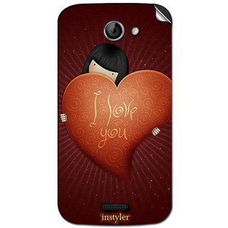 Instyler Mobile Skin Sticker For Micromax Canvas Elanga 2A121 MSMMXCANVASELANZA2A121DS-10127 CM-4927