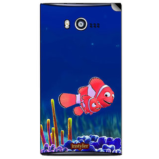 Instyler Mobile Skin Sticker For Micromax Bolt A075 MSMMXBOLTA075DS-10052 CM-6292