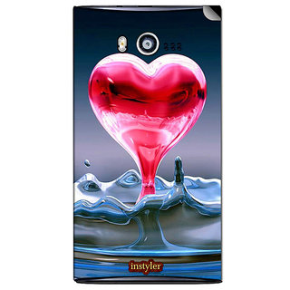 Instyler Mobile Skin Sticker For Micromax Bolt A075 MSMMXBOLTA075DS-10120 CM-6520