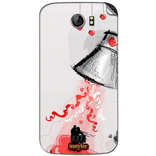 Instyler Mobile Skin Sticker For Micromax Canvas 2Plus A110Q MSMMXCANVAS2A110QDS-10115 CM-5875
