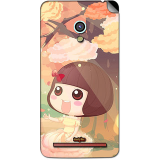 Instyler Mobile Skin Sticker For Asus Zenfone 6 MSASUSZF6DS-10058 CM-7098