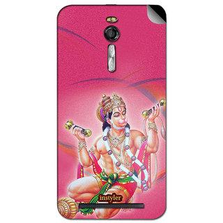 Instyler Mobile Skin Sticker For Asus Zenfone 2 Ze 550 Ml MSASUSZE550MLDS-10098 CM-7778
