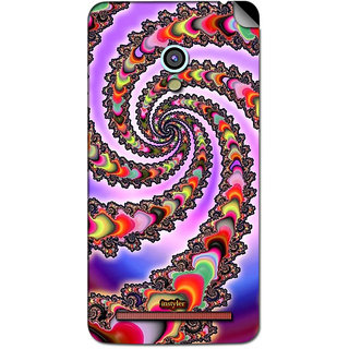 Instyler Mobile Skin Sticker For Asus Zenfone 5 MSASUSZF5DS-10156 CM-7356