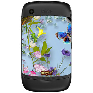 Instyler Mobile Skin Sticker For Blackberry Curve 8520 MSBBCURVE8520DS-10041 CM-6921