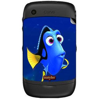 Instyler Mobile Skin Sticker For Blackberry Curve 8520 MSBBCURVE8520DS-10049 CM-6929