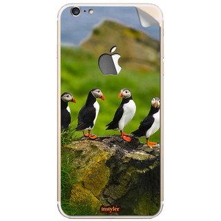 Instyler Mobile Skin Sticker For Apple I Phone 6Splus (Logo) MSIP6SPLUSLOGODS-10026 CM-7866