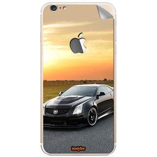 Instyler Mobile Skin Sticker For Apple I Phone 6Plus (Logo) MSIP6PLUSLOGODS-10035 CM-8515