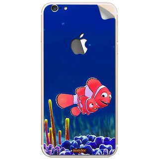 Instyler Mobile Skin Sticker For Apple I Phone 6Plus (Logo) MSIP6PLUSLOGODS-10052 CM-8532