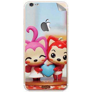 Instyler Mobile Skin Sticker For Apple I Phone 6Splus (Logo) MSIP6SPLUSLOGODS-10065 CM-7905