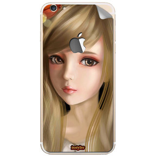 Instyler Mobile Skin Sticker For Apple I Phone 6Splus (Logo) MSIP6SPLUSLOGODS-10068 CM-7908