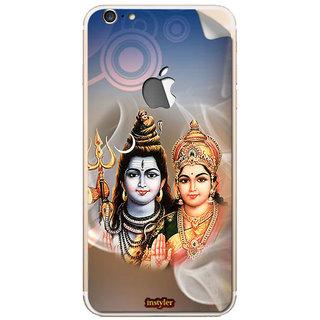 Instyler Mobile Skin Sticker For Apple I Phone 6Plus (Logo) MSIP6PLUSLOGODS-10087 CM-8567