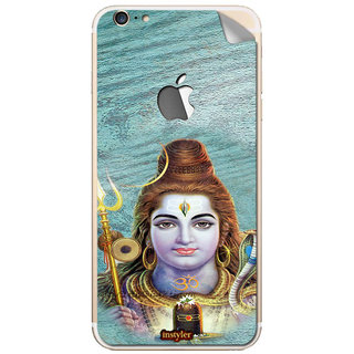 Instyler Mobile Skin Sticker For Apple I Phone 6Plus (Logo) MSIP6PLUSLOGODS-10096 CM-8576