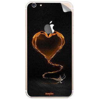 Instyler Mobile Skin Sticker For Apple I Phone 6S (Logo) MSIP6SLOGODS-10130 CM-8290