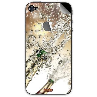 Instyler Mobile Skin Sticker For Apple I Phone 5S MSIP5SLOGODS-10148 CM-9268