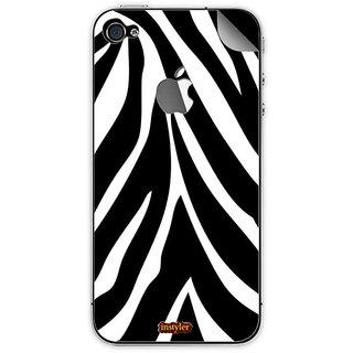Instyler Mobile Skin Sticker For Apple I Phone 5S MSIP5SLOGODS-10151 CM-9271