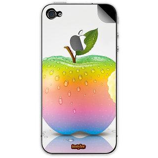 Instyler Mobile Skin Sticker For Apple I Phone 4 MSIP4LOGODS-1002 CM-9763