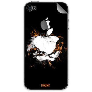 Instyler Mobile Skin Sticker For Apple I Phone 4 MSIP4LOGODS-1010 CM-9771