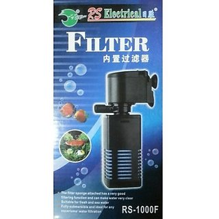 Rs 1000 F power filter 650 L/ H (Aquarium fish purpose)