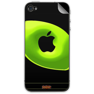 Instyler Mobile Skin Sticker For Apple I Phone 4S MSIP4SDS-10009 CM-9449