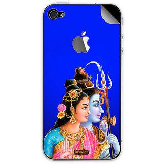 Instyler Mobile Skin Sticker For Apple I Phone 4S MSIP4SLOGODS-10095 CM-9695