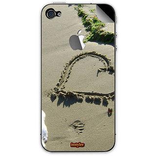 Instyler Mobile Skin Sticker For Apple I Phone 5S MSIP5SLOGODS-10105 CM-9225