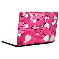 Pics And You Tons Of Pink Heart 3M/Avery Vinyl Laptop Skin Sticker Decal-LV045