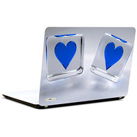 Pics And You Love Dice Blue 3M/Avery Vinyl Laptop Skin Sticker Decal-LV012