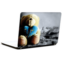 Pics And You Teddy Says I Miss 3M/Avery Vinyl Laptop Skin Sticker Decal-LV027