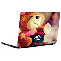 Pics And You Teddy Says I Love 3M/Avery Vinyl Laptop Skin Sticker Decal-LV023