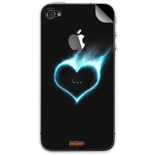 Instyler Mobile Skin Sticker For Apple I Phone 4S MSIP4SLOGODS-10119 CM-9719