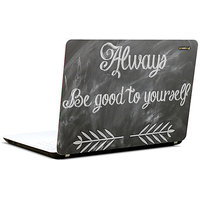 Pics And You Be Good 3M/Avery Vinyl Laptop Skin Sticker Decal-SL004