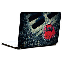Pics And You Heart In Mud 3M/Avery Vinyl Laptop Skin Sticker Decal-LV070