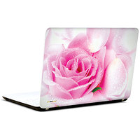 Pics And You Dews On Pink Rose 3M/Avery Vinyl Laptop Skin Sticker Decal - FL016