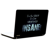 Pics And You Creatively Insane 3M/Avery Vinyl Laptop Skin Sticker Decal-SL012